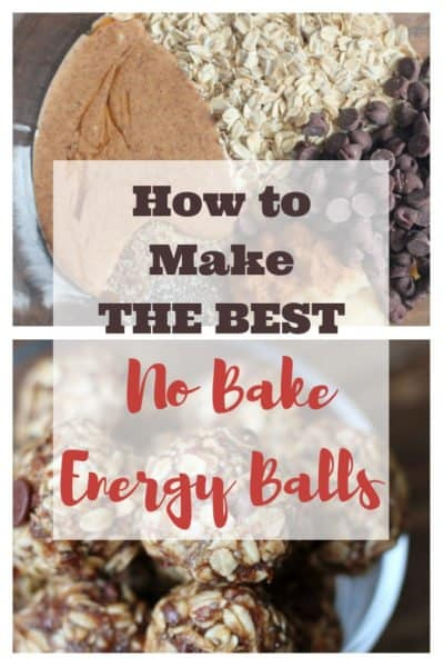 How to Make No Bake Energy Balls