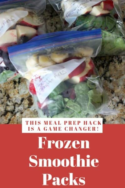 Frozen Smoothie Packs: A Total Game Changer!