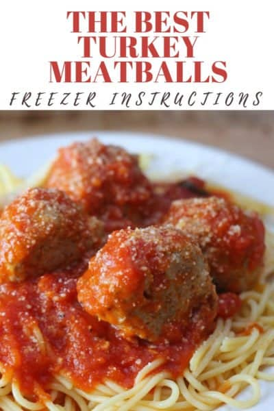 Best Turkey Meatballs You'll Ever Eat!