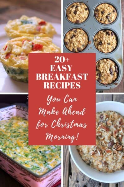 Christmas Breakfast Recipes You Can Make the Night Before