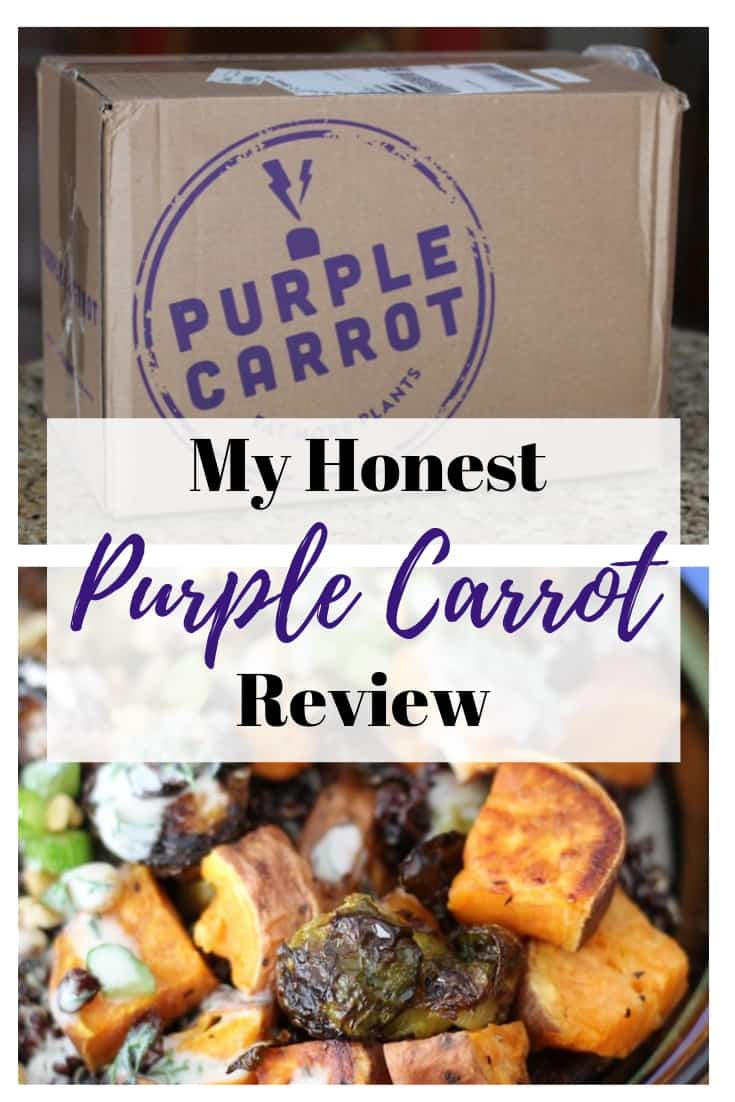 Purple Carrot Review My Honest Opinion Organize Yourself Skinny