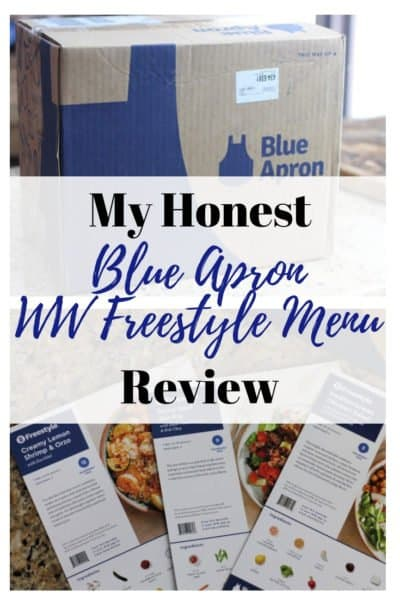Weight Watchers Meal Delivery: Blue Aprons New WW Freestyle Menu