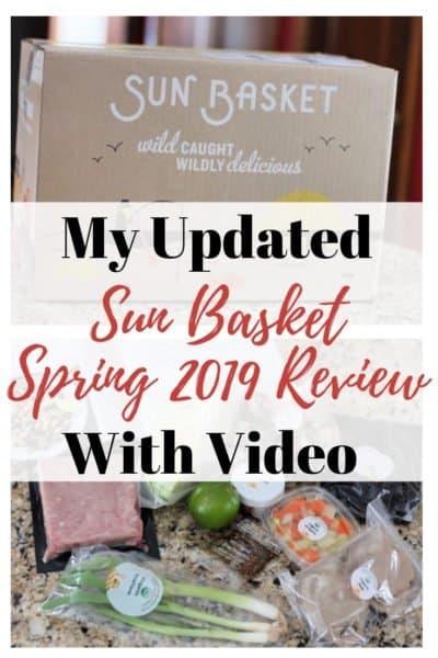 Sun Basket Review 2019 (plus a video)