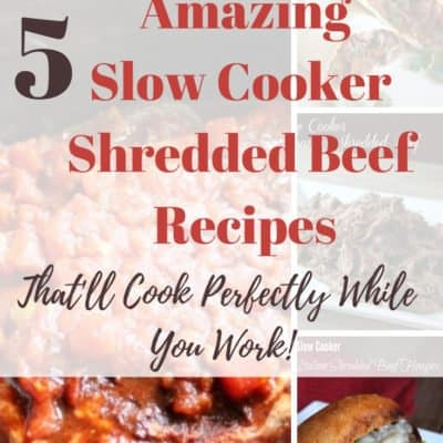 Shredded Beef Slow Cooker Recipes That'll Cook Perfectly While You Work!