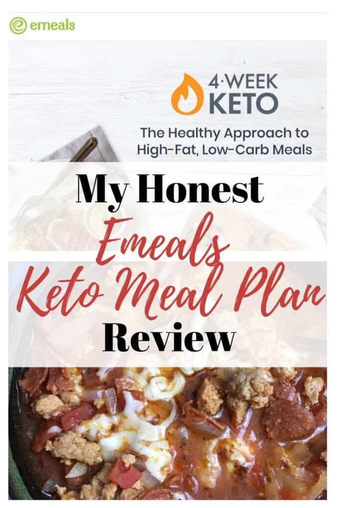 keto meal plan: emeal newest weekly menu