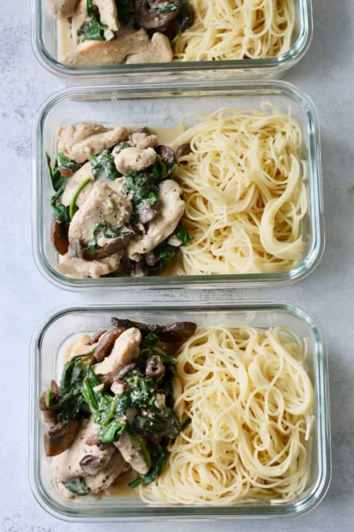 chicken spinach recipe
