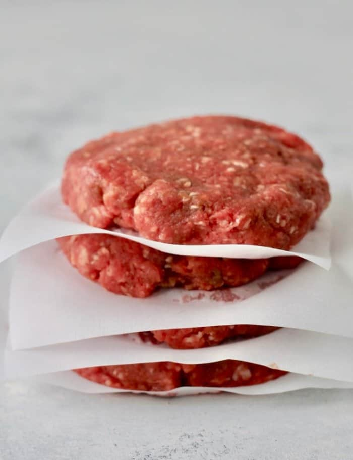 how to freezer burger patties