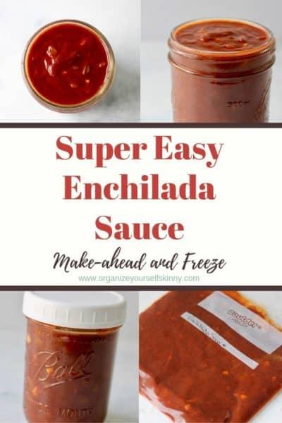 Easy Enchilada Sauce: Make-ahead Recipe