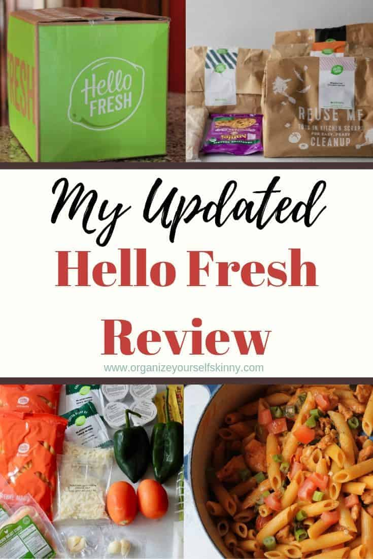 Review Unboxing Meal Kit Delivery Service