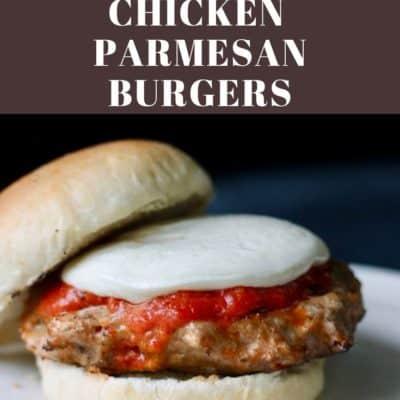 The Best Ever Chicken Parmesan Burger