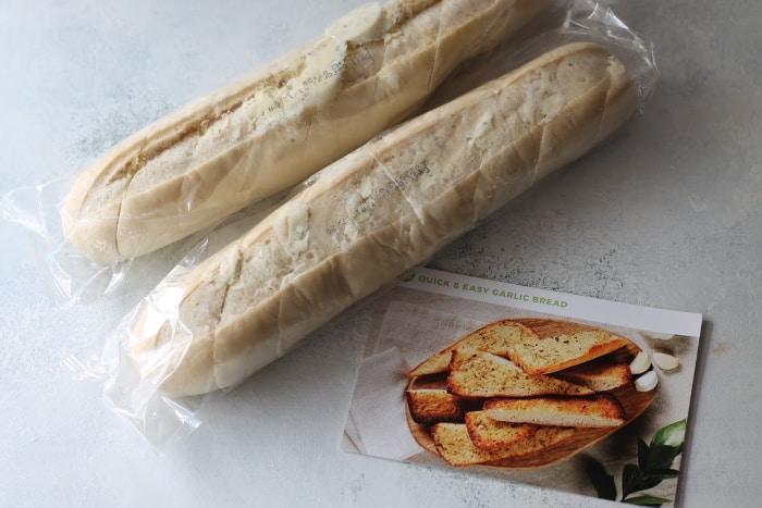 hello fresh garlic bread