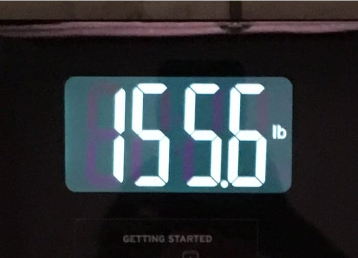 weekly weigh-in