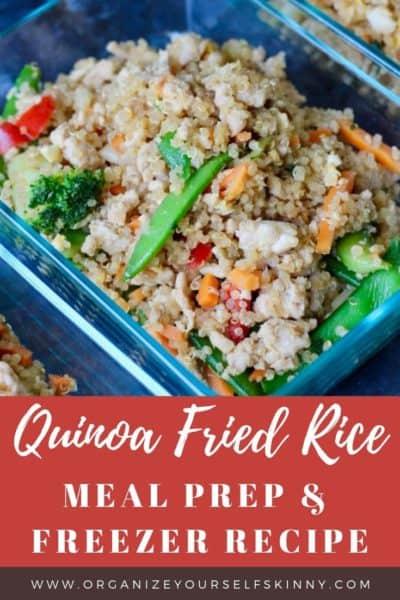 Quinoa Fried Rice: Easy Meal Prep Recipe