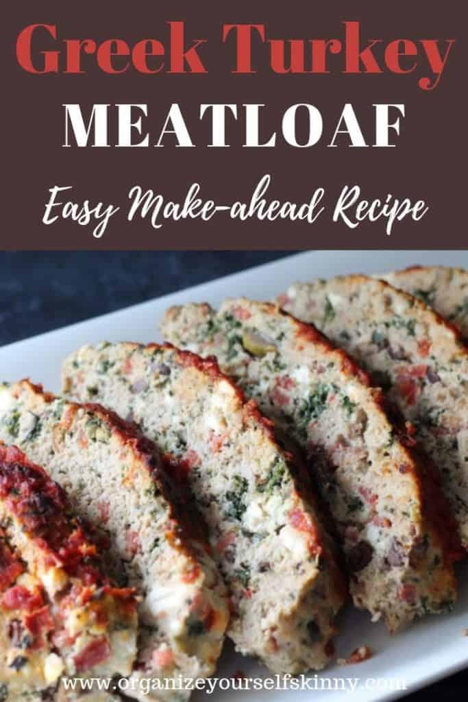 Greek Turkey Meatloaf