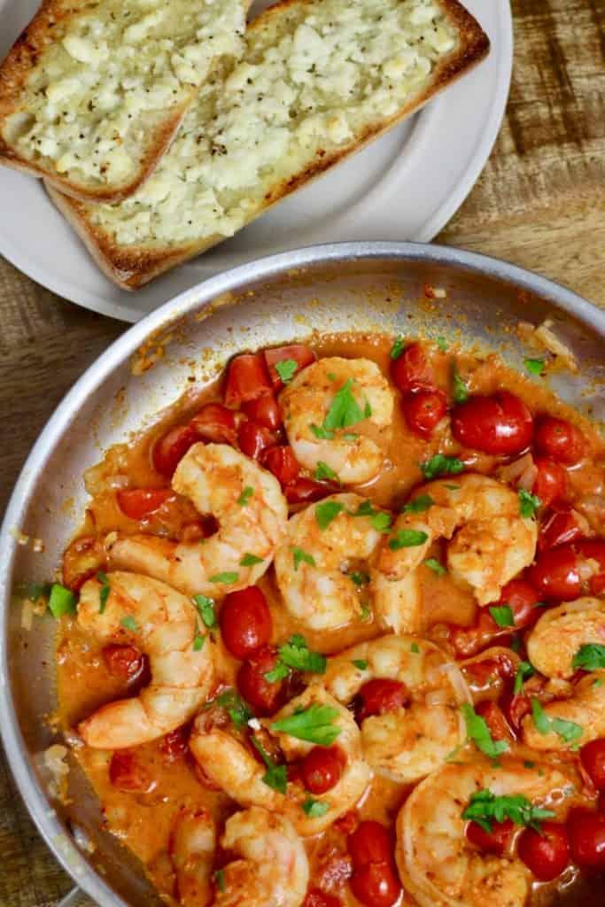 Greek Shrimp Sun Basket Meal