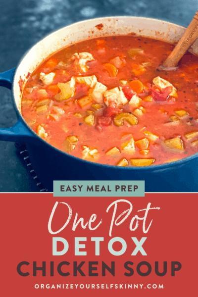 Low Carb Chicken Soup {Easy Detox Soup Recipe}
