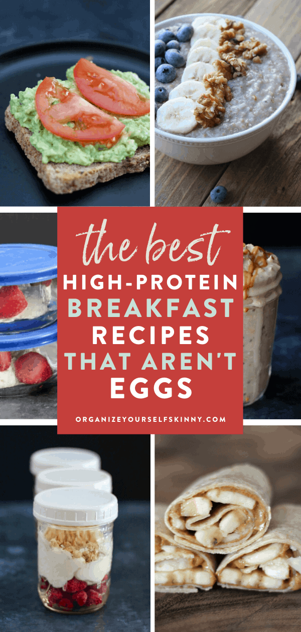 How To Meal Prep A High Protein Breakfast Without Eggs Organize Yourself Skinny