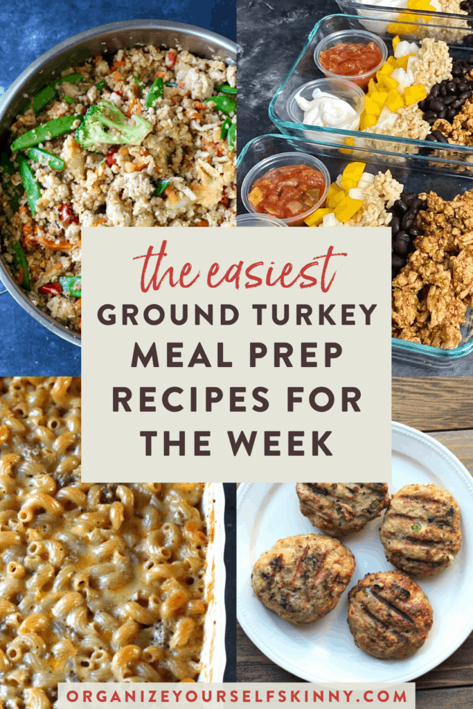 The easiest ground turkey meal prep recipes for the week