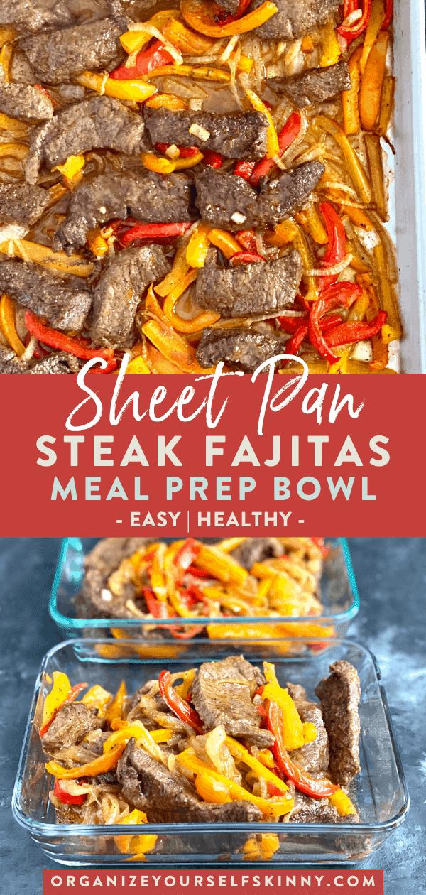 Steak Sheet Pan Fajitas