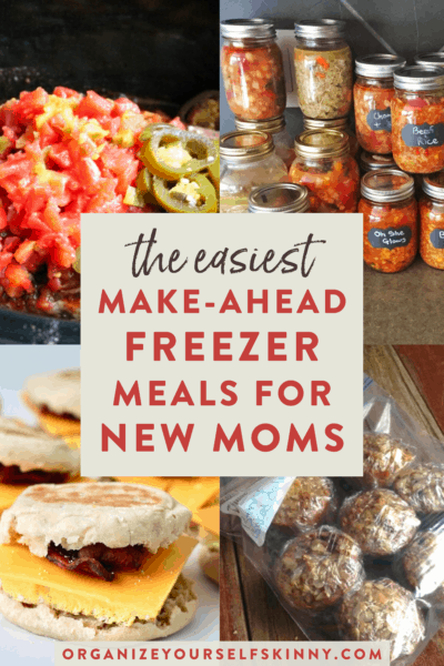 Easy Freezer Meals For New Moms