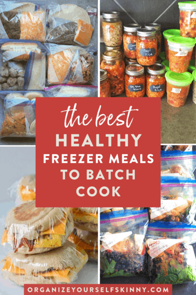 Quick and Easy Freezer Meals to Stock Up On