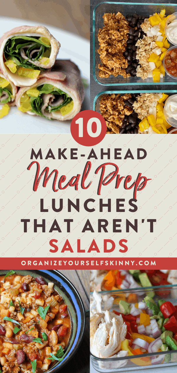 healthy lunch meal prep recipes that aren't salads