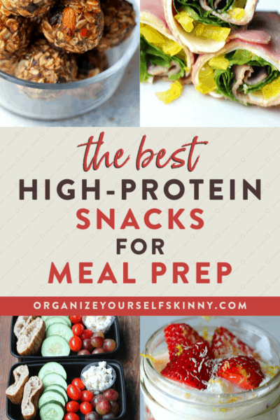How to Meal Prep High Protein Snack Recipes