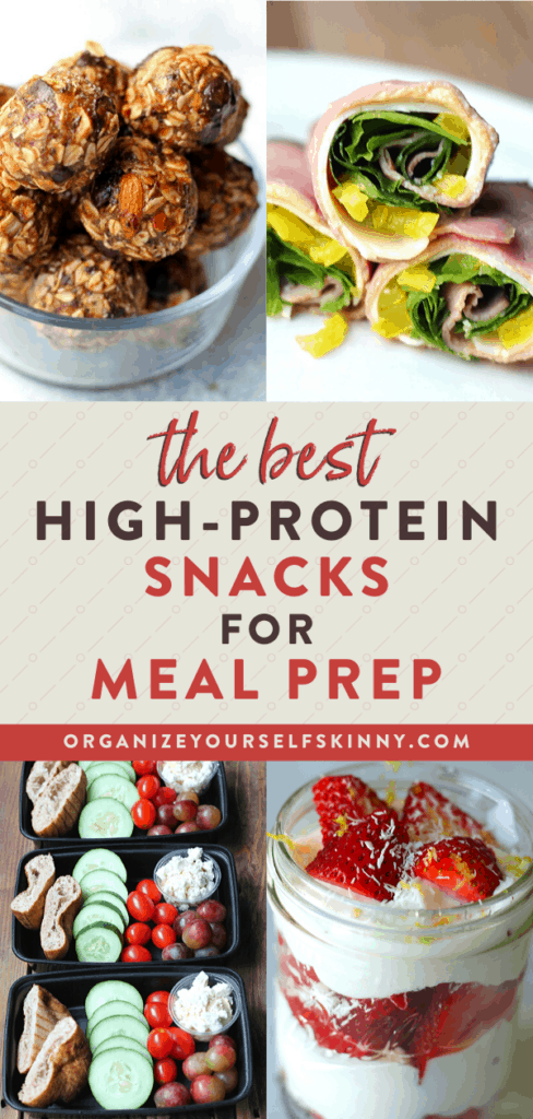 The best high-protein snacks for meal prep