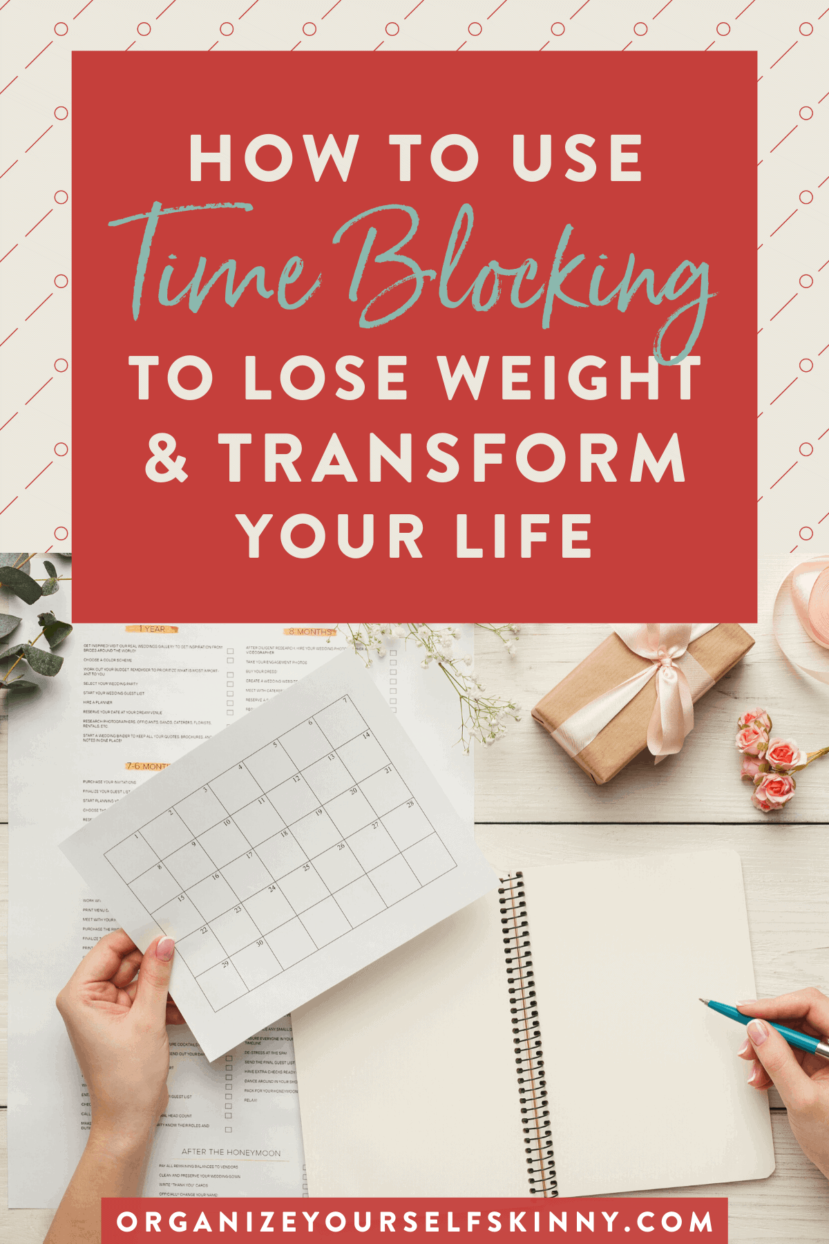how to use time blocking to lose weight