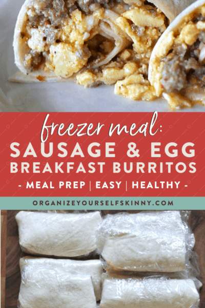 Freezer Burritos With Sausage and Egg