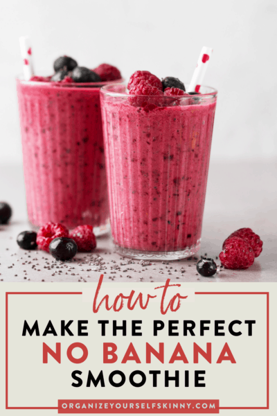 How to Make Breakfast Smoothie Recipes Without Banana