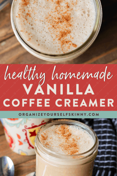 Homemade Coffee Creamer {Vegan Recipe}