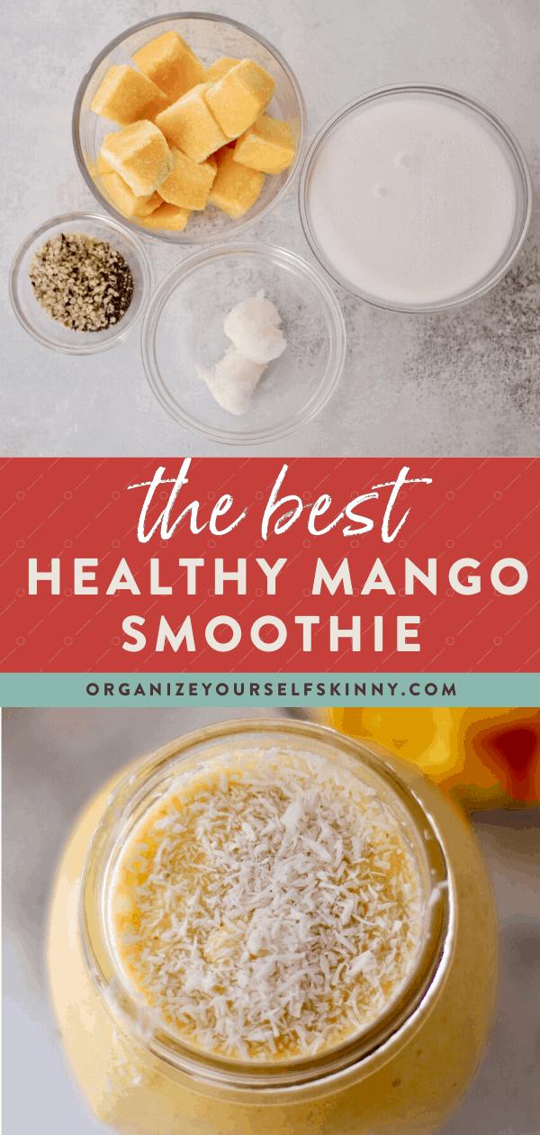 mango smoothie recipe vegan