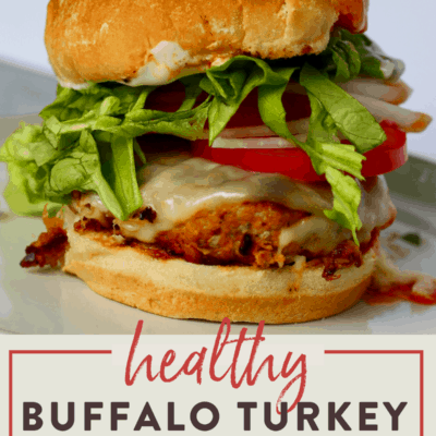 Buffalo Turkey Burger