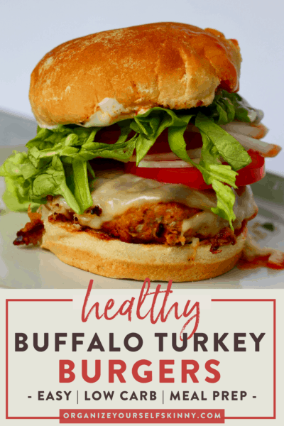 Delicious Buffalo Turkey Burgers