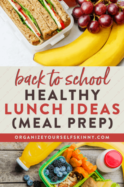Healthy School Lunch Ideas To Pack For Your Kids