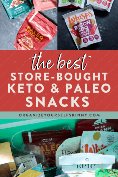 The Best Store Bought Keto Snacks (Paleo Options Too!)