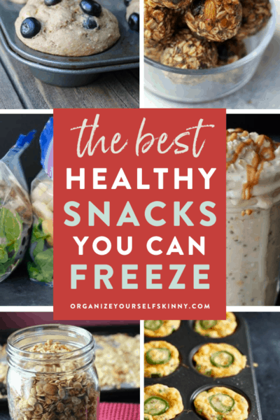 The Best Healthy Snack Recipes You Can Freeze