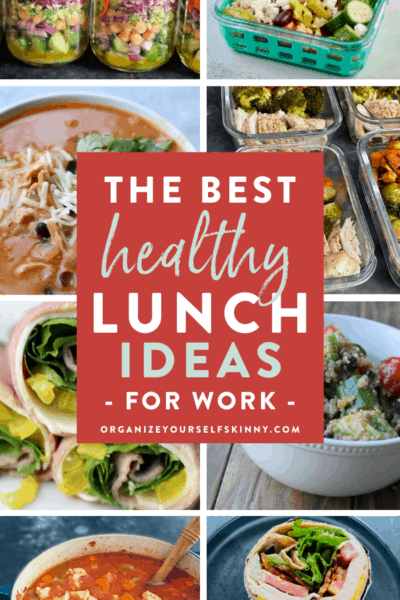 The Best Make-Ahead Healthy Lunch Ideas For Work