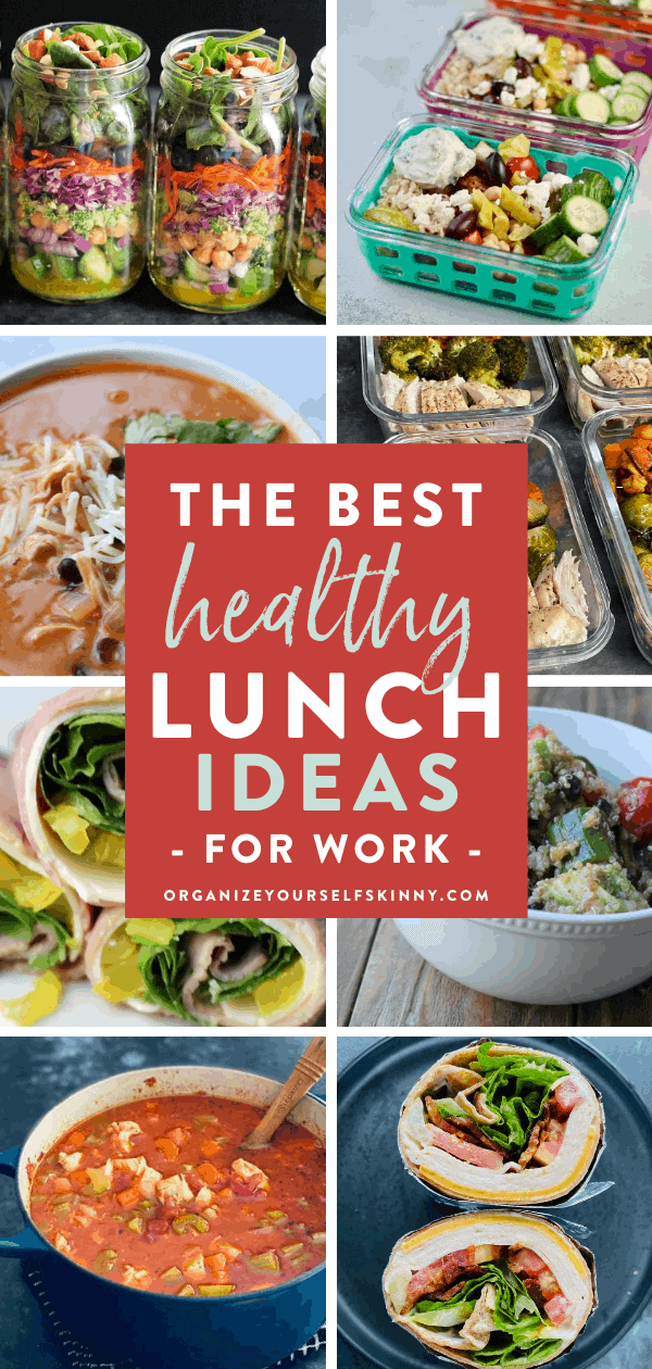 The best healthy lunch ideas for work