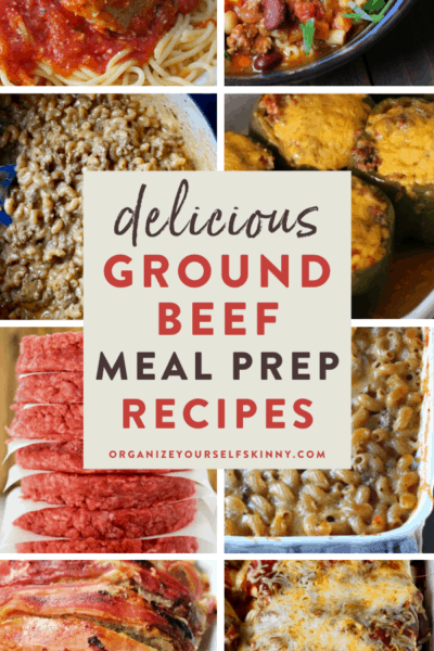 The Best Ground Beef Meal Prep Recipes and Ideas