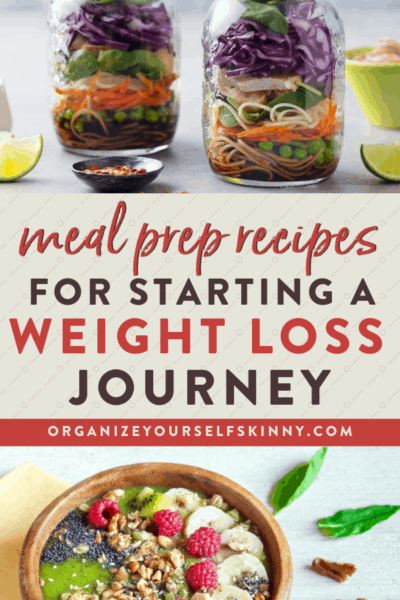 healthy meal prep recipes to make when first starting out.