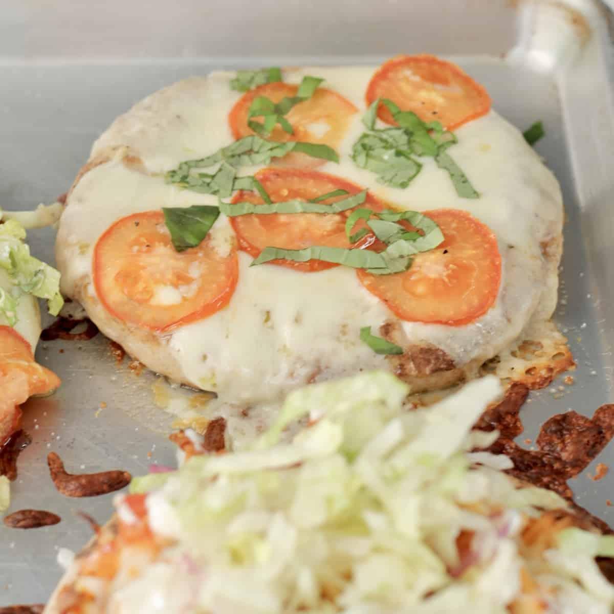 pita pizzas for vegan meal prep