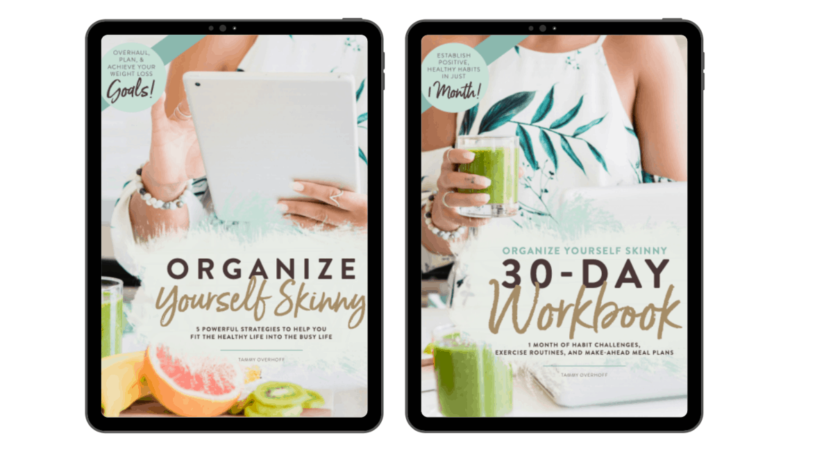 organize yourself skinny eBook bundle