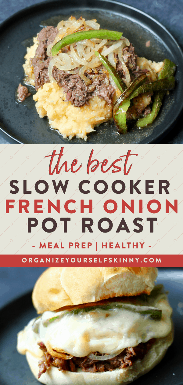 Slow Cooker Pot Roast with onion soup mix