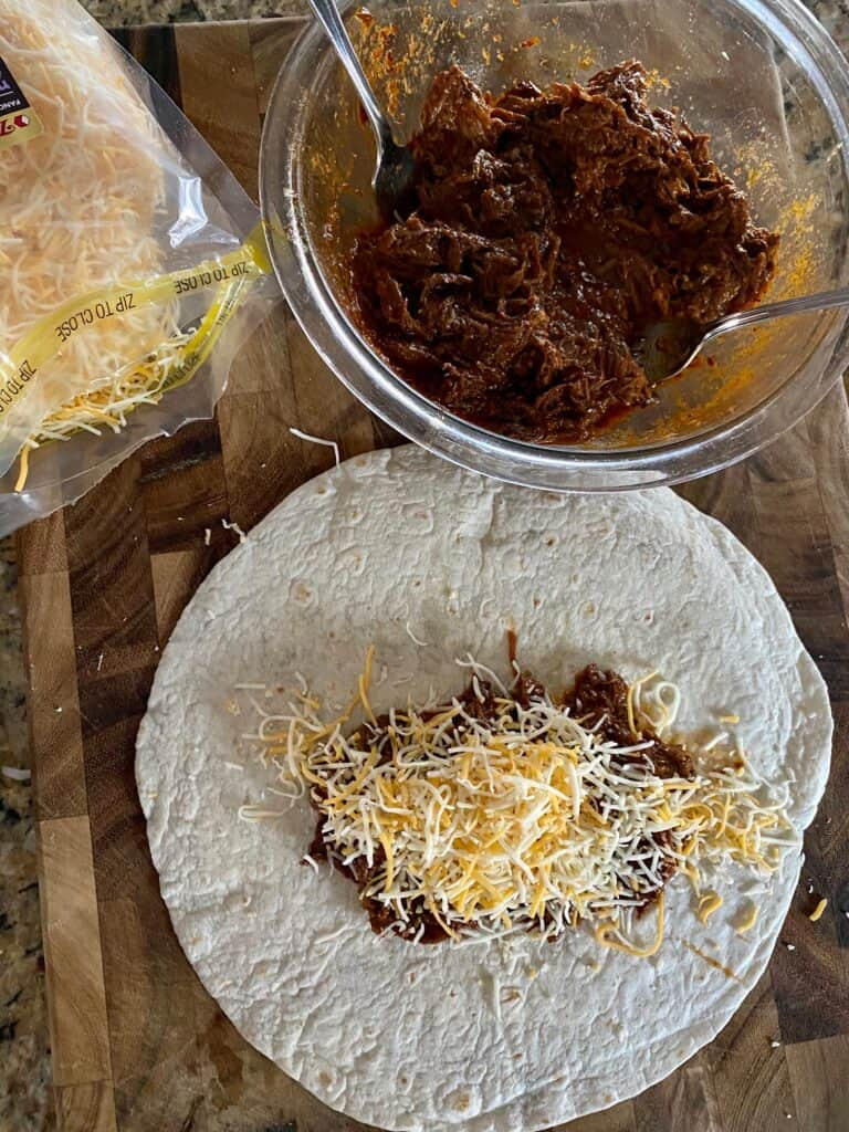 how to make enchiladas ahead of time