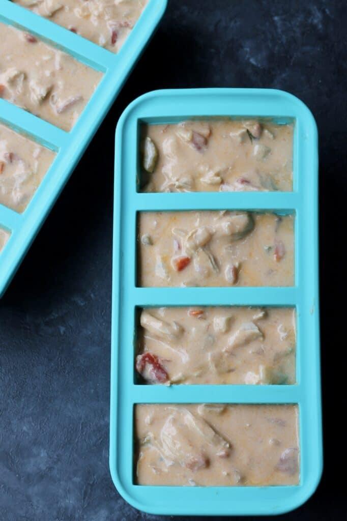 freezer soup in souper cubes