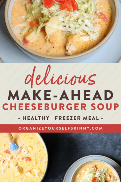 Cheeseburger Soup (Stove-Top and Slow Cooker)