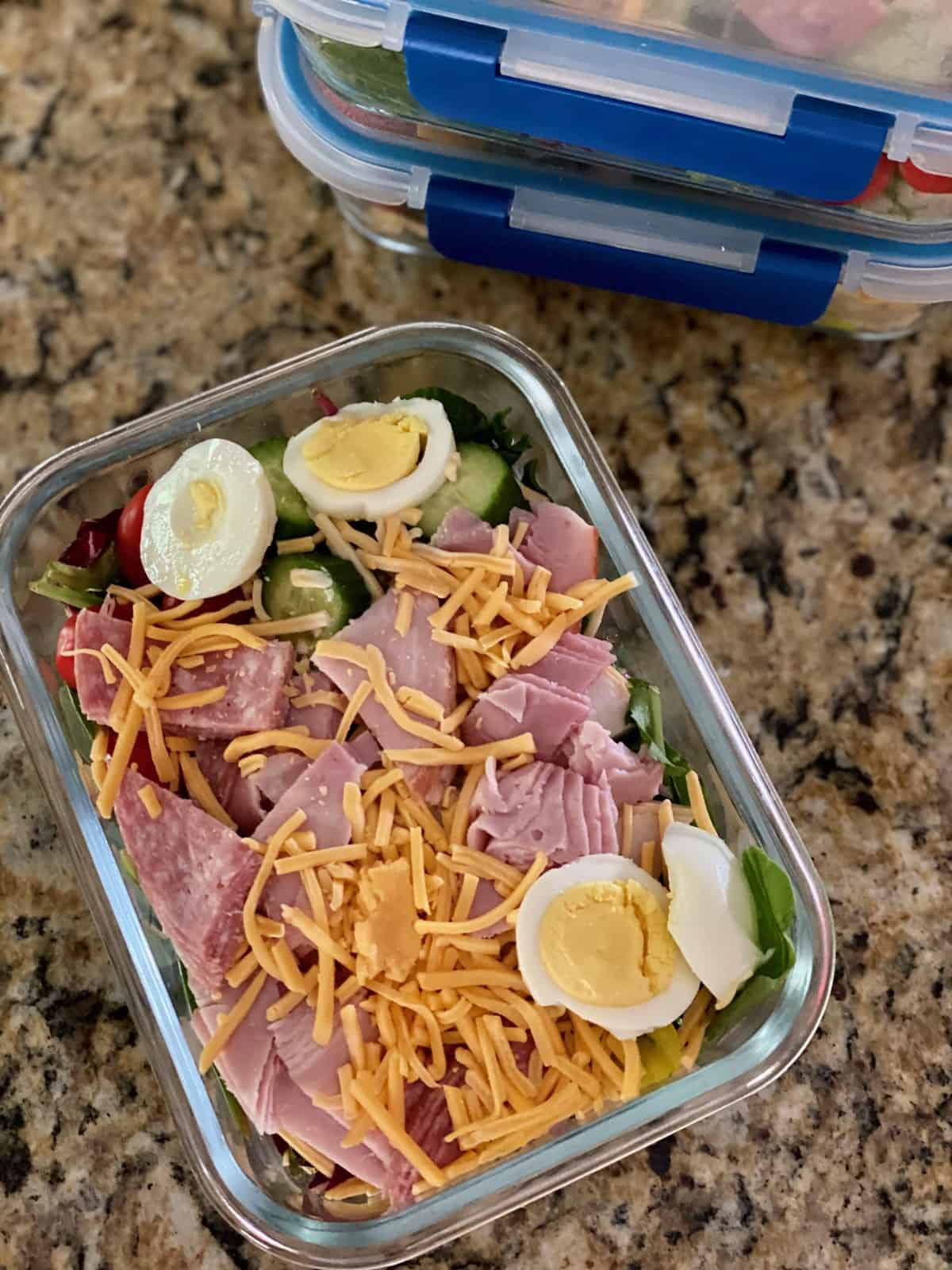 husbands salads for the week