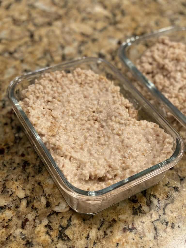 steel cut oats meal prep